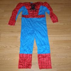 Costum carnaval serbare spiderman pentru copii de 3-4 ani - Costum Halloween, Marime: Masura unica, Culoare: Din imagine