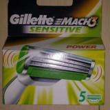 Set 5 rezerve Gillette Mach 3 Senzitive Power