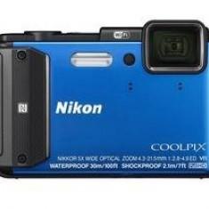 Aparat foto digital Nikon Coolpix AW130, albastru - Aparat Foto compact Nikon