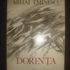 Mihai Eminescu - Dorinta  {editie poliglota}