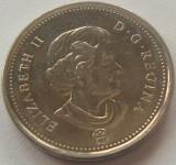 Moneda 5 Centi - CANADA, anul 2011 *cod 4186 a.UNC, America de Nord