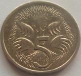 Moneda 5 Centi - AUSTRALIA, anul 2000 *cod 2727 a.UNC, Australia si Oceania
