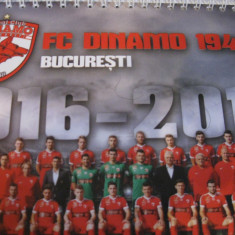 Dinamo Bucuresti - calendar de birou (2016)