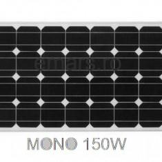 Panouri solare, panou solar fotovoltaic, KIT 150w, pentru rulote, cabane