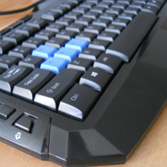 Tastatura Gaming Zalman ZM-K300M., Cu fir, USB