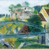 A. Phoebus 1950 * Ulei pe panza pe carton - Pictor roman, Peisaje, Altul