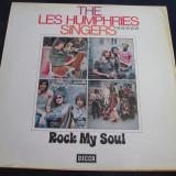The Les Humphries Singers - Rock My Soul _ vinyl ,LP , album  _ Decca (Germania)