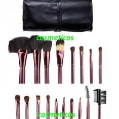 Set pensule machiaj par natural calitate superioara Megaga - Make up profesional