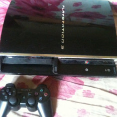 Consola ps3-modata-hdd 320gb+Acces online+GTA V, FIFA 17-etc - PlayStation 3 Sony