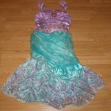 Costum carnaval serbare printesa ariel pentru copii de 7-8 ani - Costum Halloween, Marime: Masura unica, Culoare: Din imagine