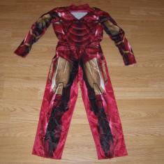 Costum carnaval serbare iron man pentru copii de 5-6 ani - Costum Halloween, Marime: Masura unica, Culoare: Din imagine