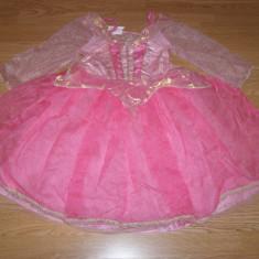 Costum carnaval serbare printesa aurora pentru copii de 4-5-6 ani - Costum Halloween, Marime: Masura unica, Culoare: Din imagine