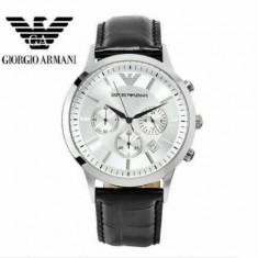 Ceas Emporio-Armani - model 2251016 Negru - Ceas barbatesc Armani, Quartz