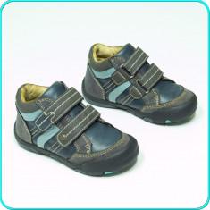 DE CALITATE _ Semi ghete / pantofi, PIELE, comozi, IMPIDIMPI _ baieti | nr. 24 - Pantofi copii, Culoare: Din imagine, Fete, Piele naturala