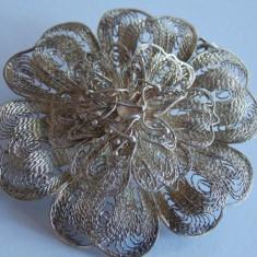 Brosa/ pandant de argint in filigran -1257