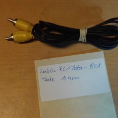 Cablu RCA Tata - RCA Tata 1, 40 m - Cablu Camera Video
