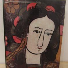 Romanian folk painting on glass - Iuliana, Dumitru Dancu - Album Pictura