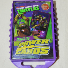 Cati joc Testoasele Ninja - Teenage Mutant Ninja Turtles Donatello Power Cards - Jocuri Board games