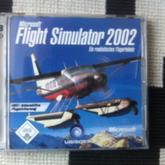 Microsoft Flight Simulator 2002 3 cd pc cd rom ein realistisches flugerlebnis - Jocuri PC Ubisoft, Simulatoare