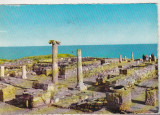 bnk cp Dobrogea - Ruinele cetatii antice Histria - circulata - Kruger 1135/12