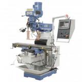 Masina de frezat multifunctionala Bernardo MFM 250 cu cititor digital pe 3 axe, 400V, cap frezat multifunctional