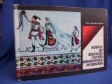 ELVIRA ZAMFIRESCU-TALIANU ~ MODELE DE BRODERIE PT. ORNAMENTATIE INTERIOARA-1975