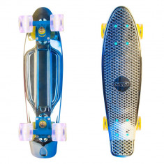 Penny board Worker Mirra 400 22'' cu roti iluminate - Skateboard