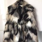 Geaca blana H&M 36 - Geaca dama, Culoare: Multicolor