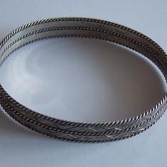 Bratara de argint vintage -256 - Bratara argint