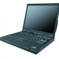 Laptop IBM ThinkPad T42, Intel Pentium M 1.7 GHz, 1GB DDRAM, 40 GB HDD ATA, DVD-CDRW, WI-FI, Tastatura, Display 14.1""