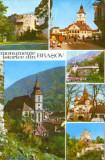 Romania - CP circulata - Brasov - Monumente istorice, Fotografie
