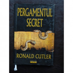 RONALD CUTLER - PERGAMENTUL SECRET - Carte de aventura