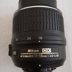 Nikon AF-S Nikkor 18-55mm 1:3.5-5.6G VR - Obiectiv DSLR