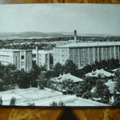 Ilustrata Ramnicu Sarat - Fabrica de Tigarete, circulat 1966 - Carte Postala Muntenia dupa 1918, Circulata, Fotografie