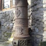 Soba antica din fonta