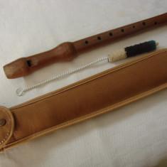 Frumos fluier din lemn
