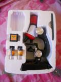 Microscop educational pentru copii , marire 100x,400x,1200x