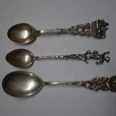 Lingurite argint 800, Tacamuri