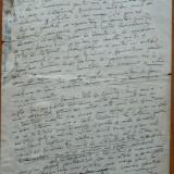 Manuscris Nicolae Iorga , 8 pagini de manuscris