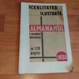 -ALMANAHUL-REALITATEA ILUSTRATA - Carte veche