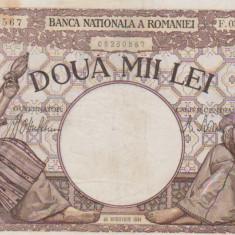 2000 LEI 18 NOIEMVRIE 1941 - Bancnota romaneasca