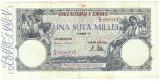 1) Bancnota 100000 lei 20 decembrie 1946