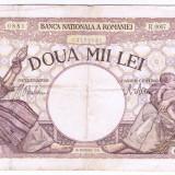Bancnota 2000 lei 1941 - Bancnota romaneasca