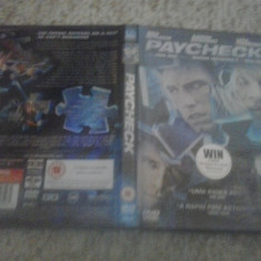 Paycheck (2003)  - DVD, Engleza