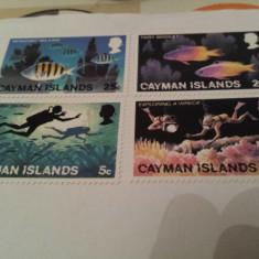 Anglia/colonii/cayman 1977-80 / 2 serii MNH - Timbre straine, Nestampilat