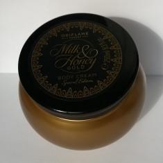 Cremă hrănitoare de corp Milk & Honey Gold - Ediţie Specială (Oriflame) - Crema de corp