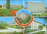 Romania - Intreg p.ilustrat 1976 circ.,marca fixa - jud.Prahova-Colaj de imagini, Dupa 1950