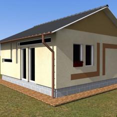 Cele mai accesibile case pe structura metalica