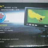 Mini monitor lcd pentru masina cu antena