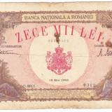 Bancnota 10000 lei 1945 18 mai - Bancnota romaneasca